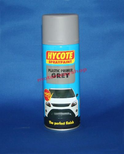 Plastic Primer Grey Spray Paint Hycote 400ml Aerosol